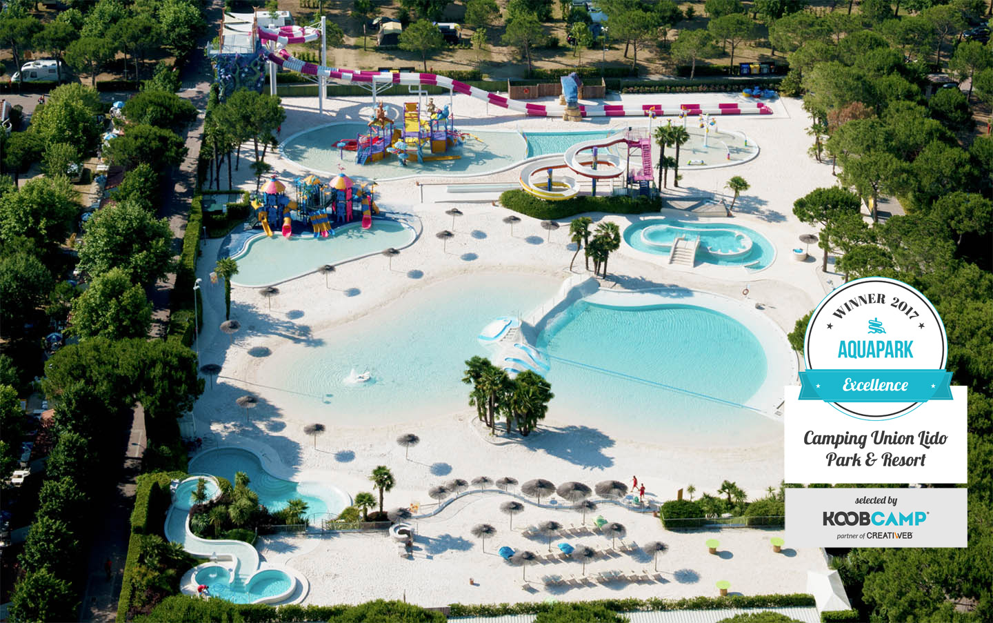 Il camping union lido park resort guida la top 10 campeggi e villaggi con aquapark travelnostop - Villaggi con piscine e scivoli ...