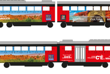 Il Marocco di King Holidays in mostra sui tram di Milano