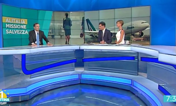Alitalia, Gubitosi: cerchiamo qualcuno per fare sinergie puntando sul lungo raggio