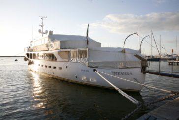 A Porto Santo Stefano è ormeggiato 'Istranka', lo yacht che fu di Tito
