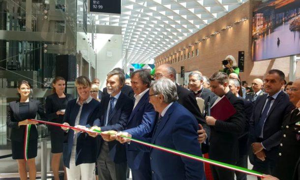 Aeroporti: inaugurato nuovo terminal al Marco Polo di Venezia