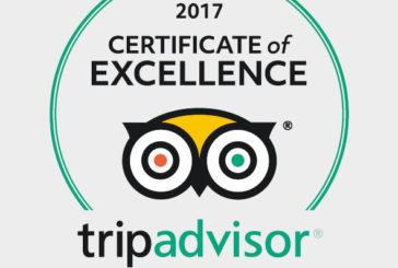 Tripadvisor premia Carrani Tours con il Certificato d'Eccellenza