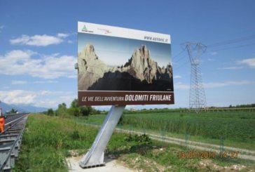 Nuovi cartelloni turistici sulle strade di Veneto e Friuli
