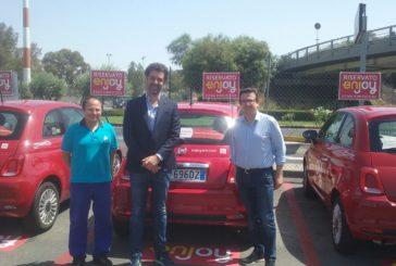 All'aeroporto di Catania atterra il car sharing di Enjoy