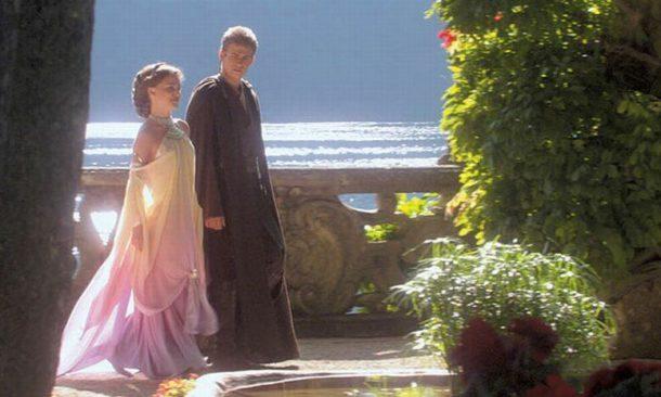 Matrimonio Tema Star Wars : Come padme e anakin villa balbianello scelta per