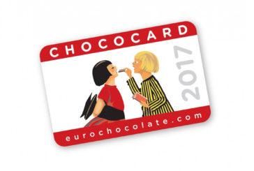 Con la ChocoCard servizi ed omaggi per i visitatori dell'Eurochocolate
