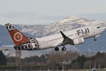 Fiji Airways decolla con 2 voli dall'aeroporto di Adelaide