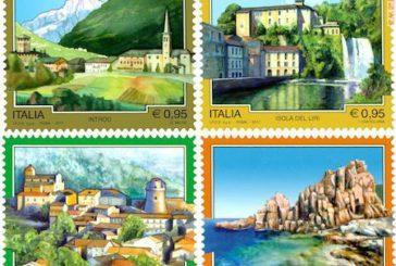 Sui francobolli di Poste Italiane quattro nuove località turistiche