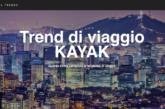Ecco Trend di viaggio KAYAK, nuovo strumento per programmare le vacanze