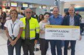 Vueling festeggia il suo 250.000° pax in partenza dall'aeroporto di Bari