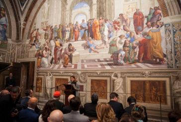 Musei Vaticani, nuova luce alle Stanze di Raffaello