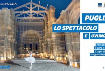 Gatta: in campagna 'Puglia, lo spettacolo è ovunque' manca Capitanata