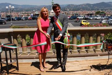 Inaugurate le balaustre di Piazzale Michelangelo grazie a Starhotels