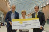 Vueling raggiunge i 3.000.000 di pax trasportati dall'aeroporto di Venezia