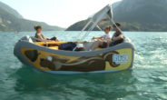 Le barche green della GOGo pronte a solcare il Lago di Molveno