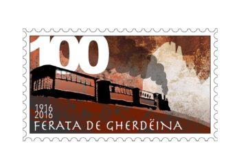 Un francobollo per i 100 anni del trenino della Val Gardena