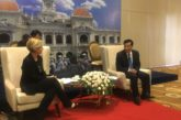 Bianchi in Vietnam alla guida di una delegazione di operatori italiani