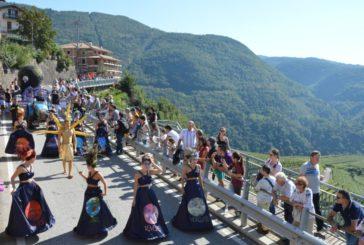 Weekend dedicato al vino in Val di Cembra con la 'Festa dell'uva di Giovo'