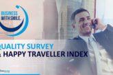 Happy Traveller Index, nuova Quality Survey di Cisalpina Tours