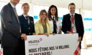 Volotea festeggia il record di 14 mln di passeggeri allo scalo di Bordeaux