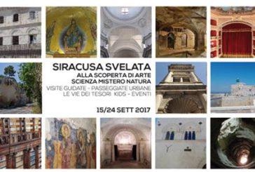 Le Vie dei Tesori sbarcano a Siracusa: visite in 29 siti per due weekend