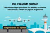 Taxi o treno? L'indagine di Kayak per risparmiare sugli spostamenti dagli aeroporti
