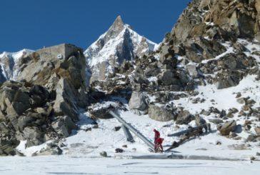 Skyway Monte Bianco punta al green con le operazioni di pulizia del ghiacciaio