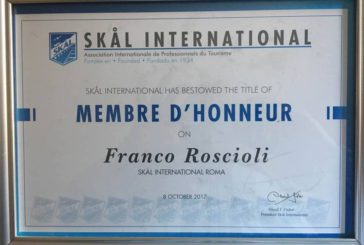 Skal International: Franco Roscioli nominato Membre d'Honneur