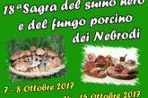 Due weekend del gusto sui Nebrodi con la Sagra del suino nero e del fungo porcino