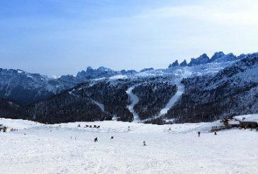 Nel weekend si scia in anteprima a Passo San Pellegrino. Inizio di stagione il 2 dicembre