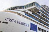 Costa Diadema debutta a Palermo, previsti 36 scali fino a novembre 2018