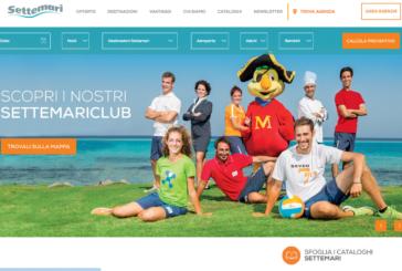 Nuovo website interattivo per Settemari