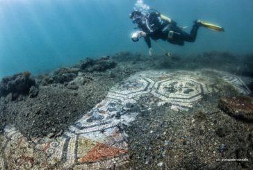 Parco archeologico Baia, compaiono due nuovi mosaici