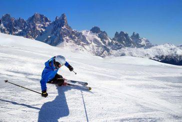 Questo weekend si torna a sciare nella Ski Area Alpe Lusia/San Pellegrino