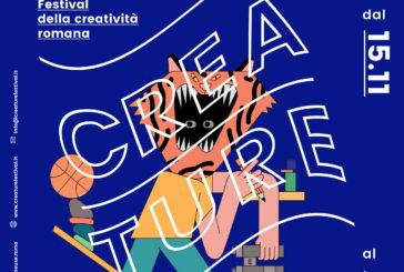 Creatività protagonista a Roma con il festival 'Creature'