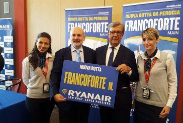 Scalo Perugia, Sase e Ryanair rinnovano accordo per altri 5 anni