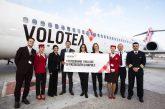 Raggiunto il record di 1 mln di pax a Napoli per Volotea