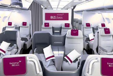 Eurowings introduce 'BIZclass', prima Business Class per una low-cost