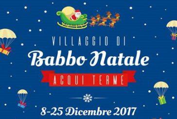 Ad Acqui Terme arriva la magia del Natale con il Villaggio di Babbo Natale