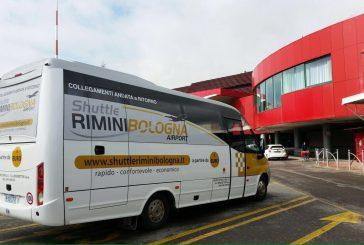 Record di 100 mila pax per lo 'Shuttle Rimini – Bologna Airport'