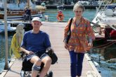 Turismo accessibile, Simonetta Agnello Hornby a Siracusa con il figlio George