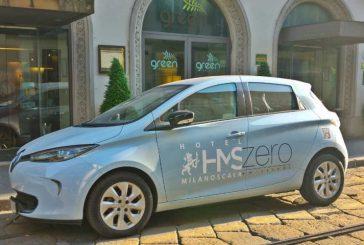 Hotel Milano Scala sempre più green con la company-car elettrica per gli ospiti