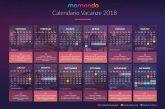 Momondo svela il calendario dei ponti del 2018