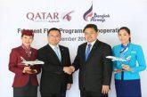 Bangkok Airways e Qatar Airways annunciano partnership 'Frequent Flyer Programme'