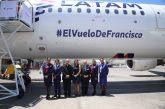 LATAM presenta l'aereo che utilizzerà Papa Francesco per gli spostamenti in Cile