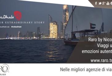 Raro By Nicolaus, video per promuovere Abu Dhabi nelle metro di Roma e Milano
