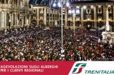 Festa Sant'Agata, agevolazioni per i turisti che arrivano in treno a Catania