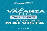 Settemari 'on air' su Radio Italia con l'Operazione Trasparenza