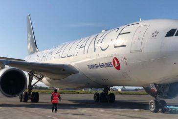 A Catania atterra aereo A330 Turkish Airlines con 289 passeggeri