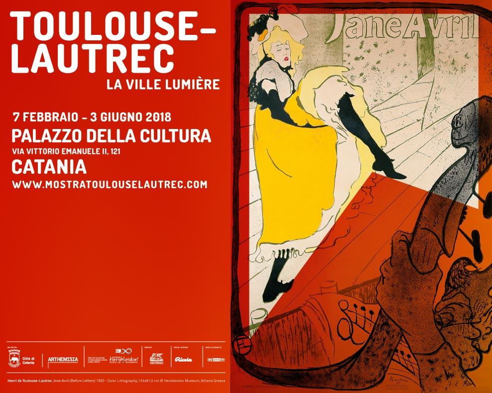 A catania in mostra la parigi boh mienne di toulouse for Mostra toulouse lautrec